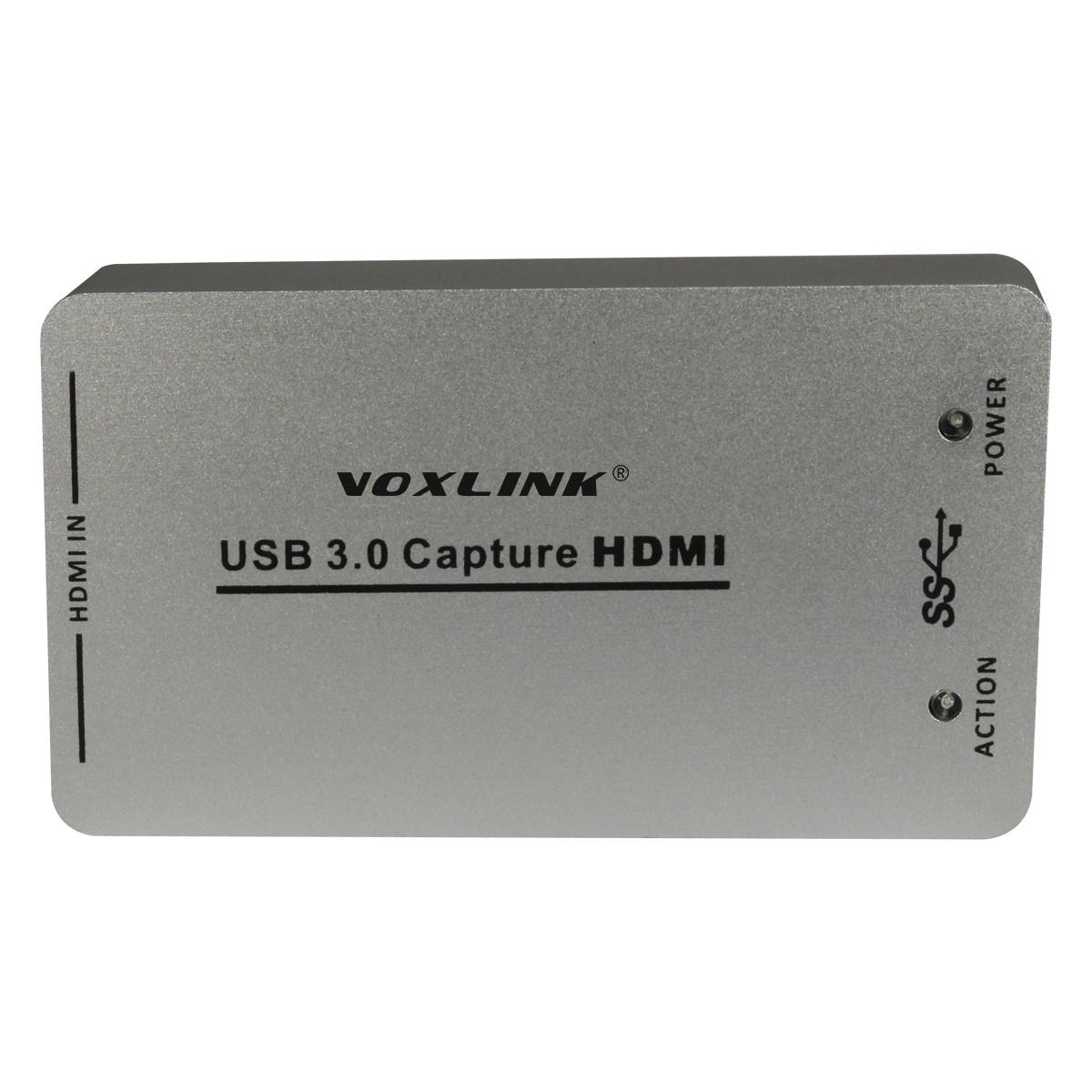 VOXLINK XI100D UVC USB3.0 1080P 60FPS HDMI Capture Dongle/USB2.0 HDMI Video Capture Card for Xbox PS3 PS4 Windows 7 Linux