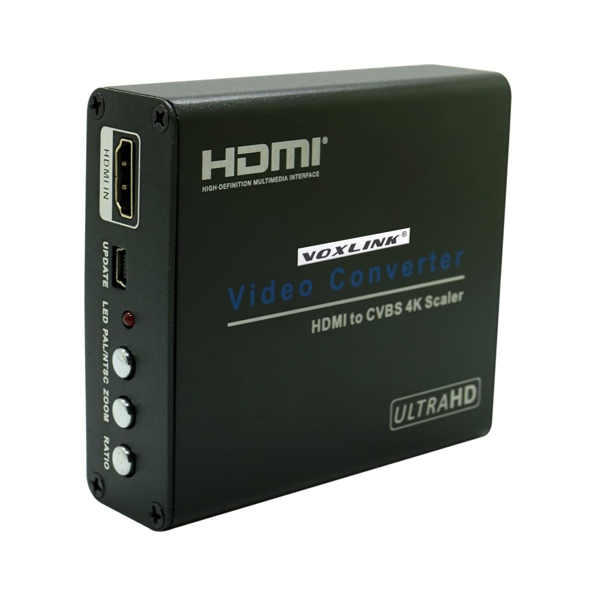 VOXLINK 4Kx2K HDMI to AV Converter Box